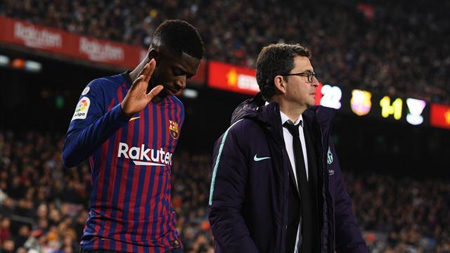 """Valverde : """"Dembélé ? Je ne sais pas s'il disputera les 90 minutes"""""""