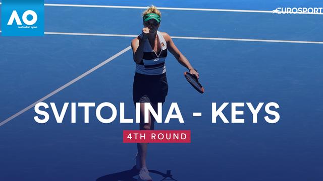 Open Australia 2019: Keys-Svitolina: Dispuesta a ganar su primer Grand Slam (6-2, 1-6 y 6-1)