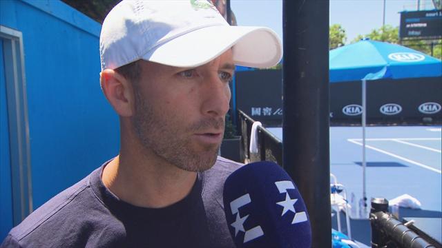 """Open Australia 2019, Vendrell, entrenador de Bautista: """"Se lo ha currado"""""""