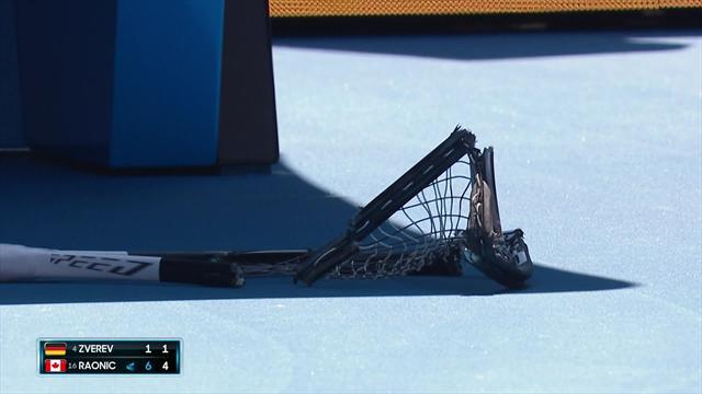 Klikket: Smadret racketen i frustrasjon