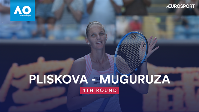 Pliskova eases past Muguruza to reach quarters