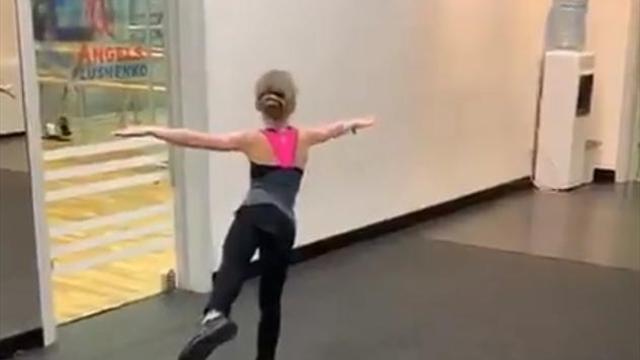9-летняя ученица Плющенко исполнила аксель в 3,5 оборота