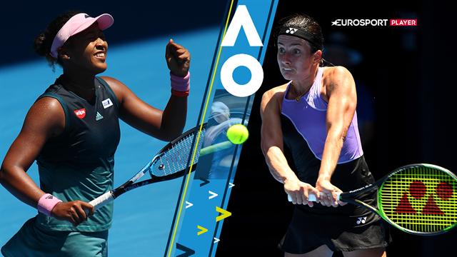 Highlights: Osaka slider sig videre til sin første Australian Open-kvartfinale