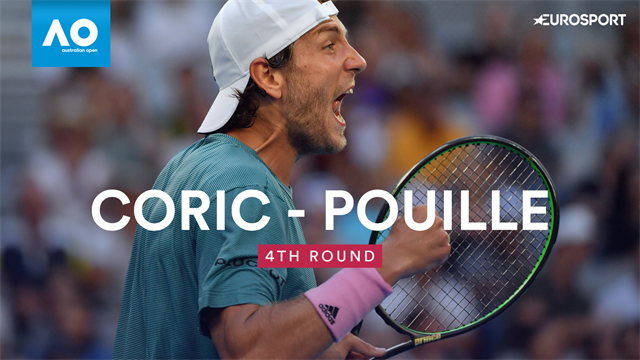 Highlights as Pouille beats Coric in thriller