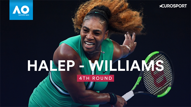 Highlights - Serena Williams shows peak form to pass Simona Halep test