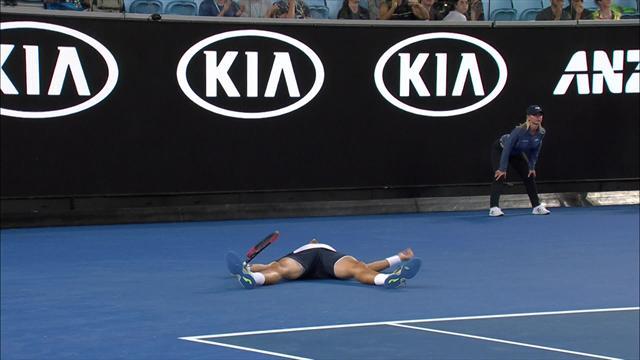Le contre de Nishikori dans le super tie-break a laissé Carreno-Busta sur le dos