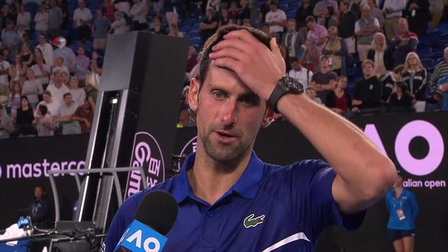"""Djokovic: """"Medvedev non regala punti, non vedo l'ora di affrontare Nishikori"""""""