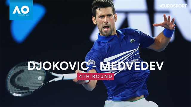 Highlights as Djokovic turns on the class to beat Medvedev