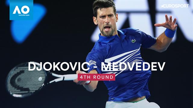 AO | Djokovic in 4 sets langs Medvedev