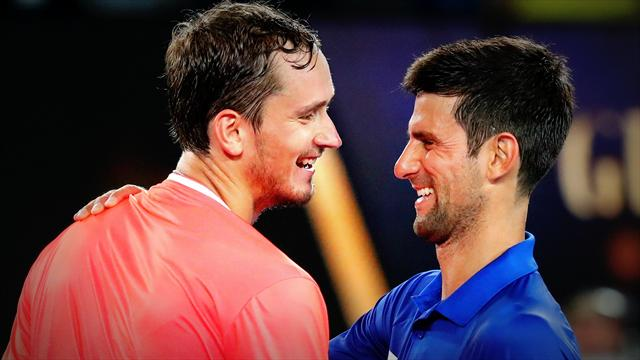 Open d\'Australie - Djokovic-Medvedev, leur combat acharné