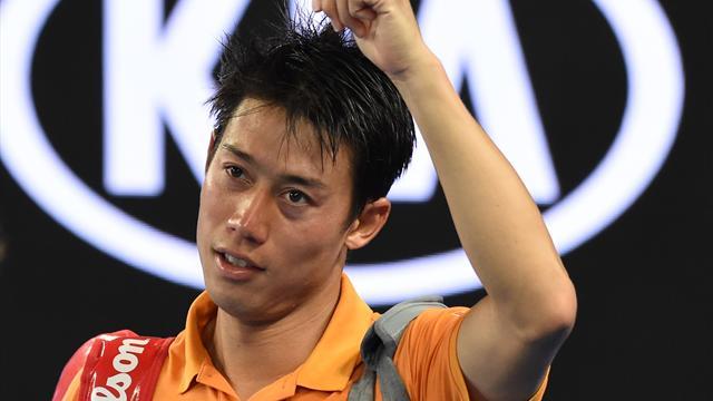 Nishikori wins epic five-set marathon as Carreno Busta loses his cool