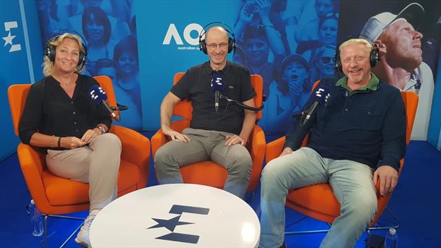 """Tennis-Vodcast #3 mit Rittner und Becker: """"Trainer gehören auf die Bank!"""""""