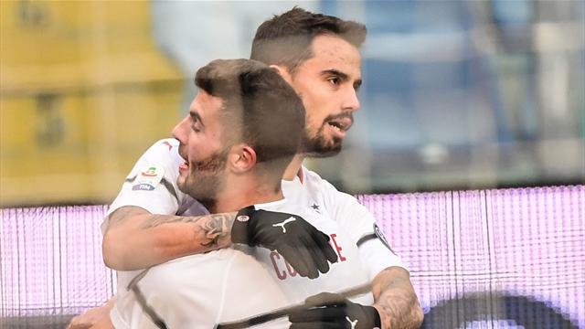 Milan s'installe au pied du podium