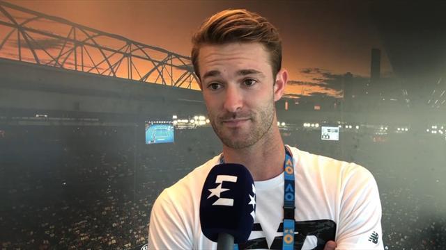 AO | 25-jarige Nederlander Stijn de Gier coacht Collins naar kwartfinale Australian Open