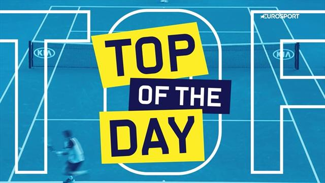 Top 5 Australian Open: i colpi più belli del Day 8