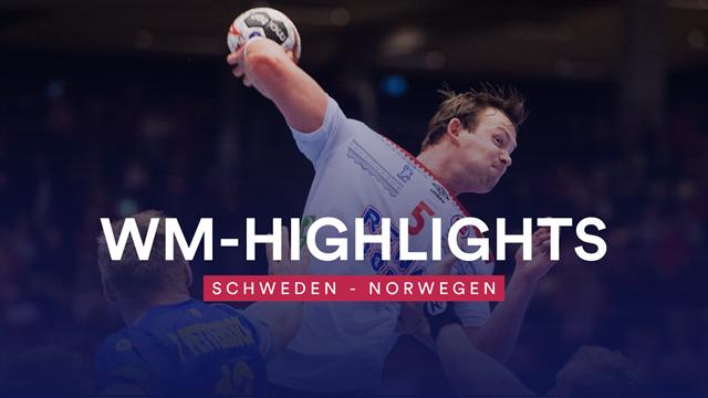 Großer Fight! So kämpfte sich Norwegen zum Sieg gegen Schweden