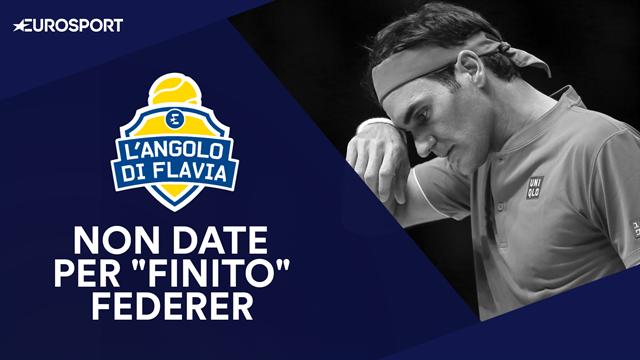 """L'Angolo di Flavia, Pennetta: """"Non date per finito Roger Federer"""""""