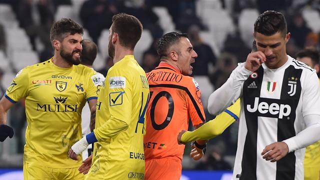 Serie A, Juventus-Chievo Verona: CR7 falló un penalti en la goleada 'bianconeri' (3-0)