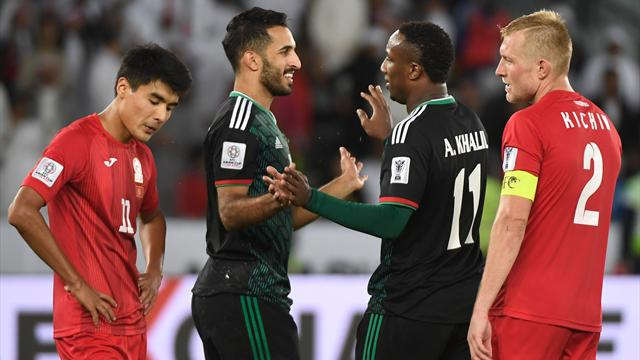 UAE reach Asian Cup last eight with extra-time penalty