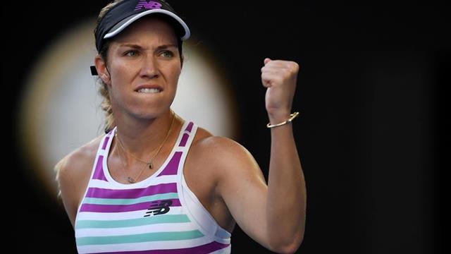 Collins alcanza las semifinales en su primer Abierto de Australia