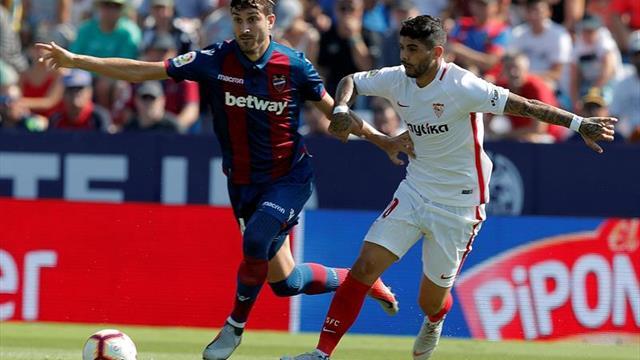 El Levante solo perdió en una de su últimas seis visitas al Sevilla