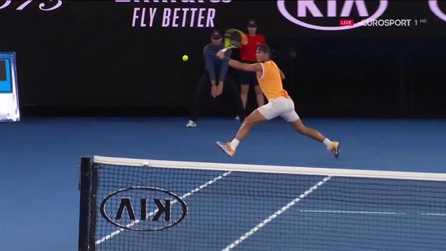 Open Australia 2019: El resto imposible de Nadal para ganar el punto directo