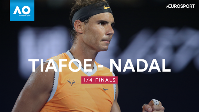 Highlights - Nadal back to his best in Tiafoe thrashing