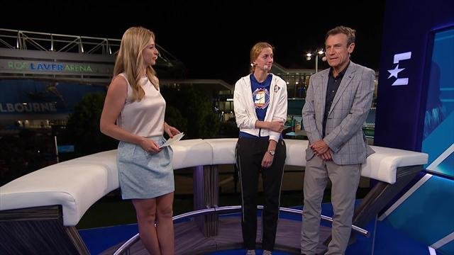 Kvitova joins Eurosport in the Game, Schett and Mats studio to discuss her amazing form
