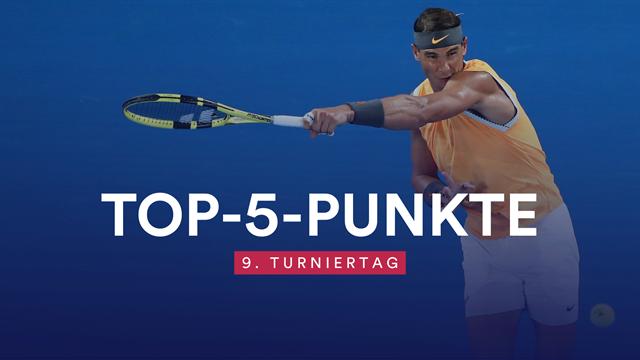 Top 5 des Tages: Grandioser Return von Nadal