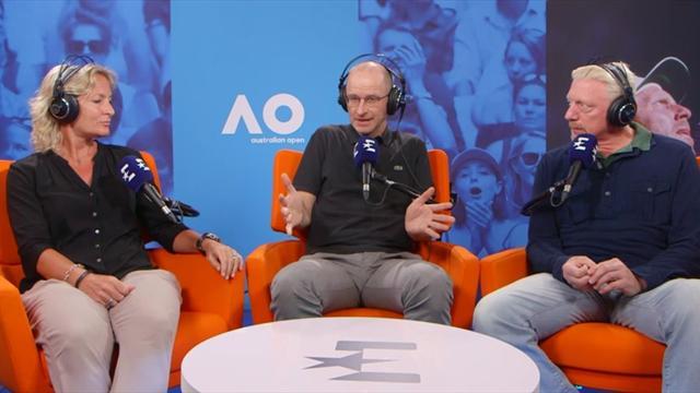 Rittner und Becker über respektlose Typen im Tennis
