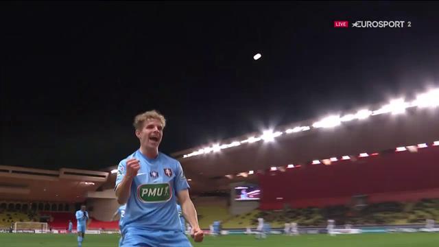 Hein donne l'avantage au FC Metz sur une merveille de frappe enroulée