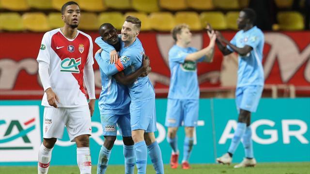 Nouvelle désillusion pour Monaco, éliminé par Metz — Coupe de France