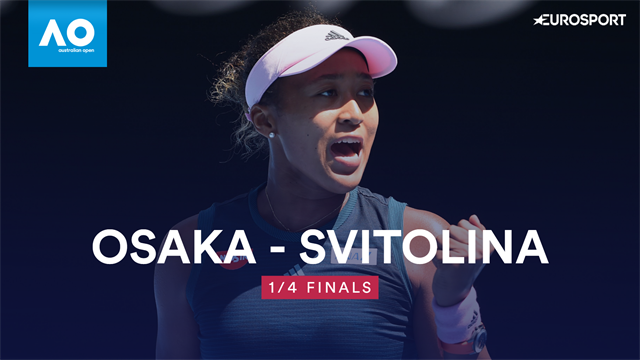 AO | Osaka blaast Svitolina omver en bereikt halve finale