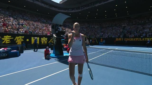 Match point: Karolína Pliskova holds her nerve to beat Serena Williams