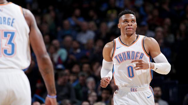 Le Thunder de Westbrook à a relance