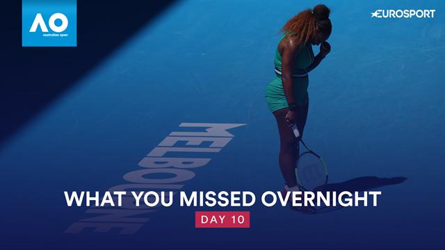 Australian Open: Sjekk nattens høydepunkter