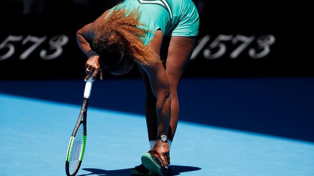 """Mouratoglou : """"Serena a compris qu'elle ne pourrait pas jouer la demi-finale"""""""