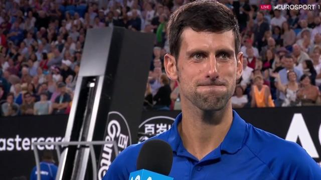 Open Australia 2019: La reacción de Djokovic al ser preguntado por Nadal, ¡no quiere ni pensarlo!