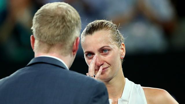 """""""Après son agression, Kvitova aurait pu ne jamais rejouer au tennis"""""""