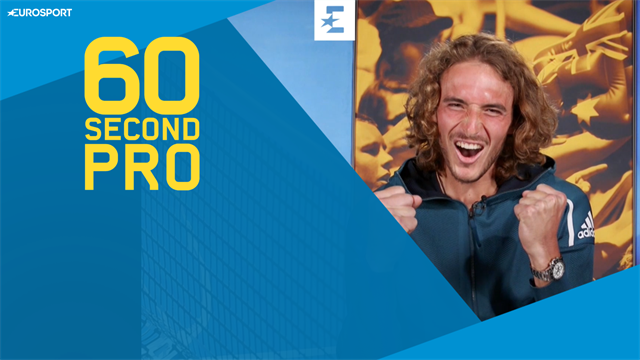 60 Second Pro: Stefanos Tsitsipas' secrets for the one-handed backhand
