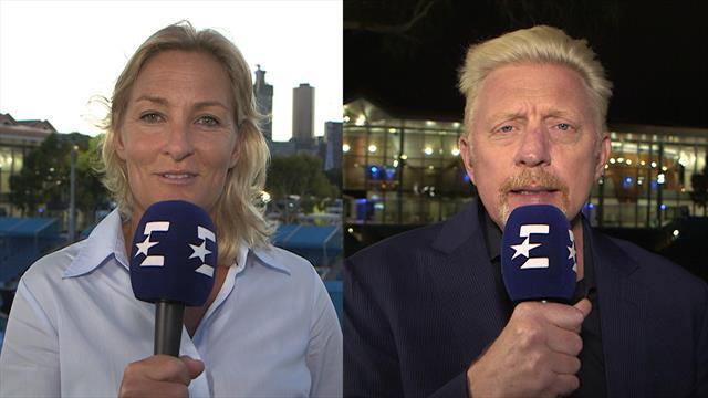Halbfinal-Prognose: Das sagen Becker und Rittner