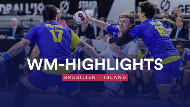 Brasilien besiegt auch Island