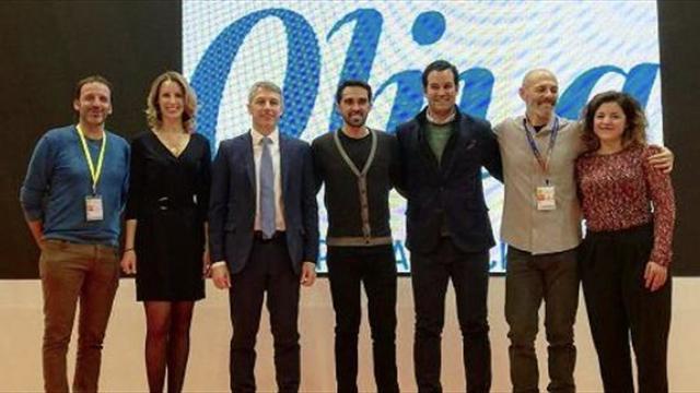 Alberto Contador presenta la novena edición de su marcha cicloturista