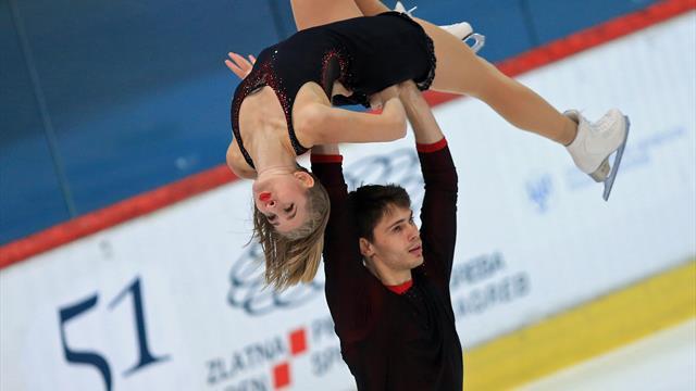 Eiskunstlauf-EM: Paarläufer Hase/Seegert nach Kurzprogramm Sechste