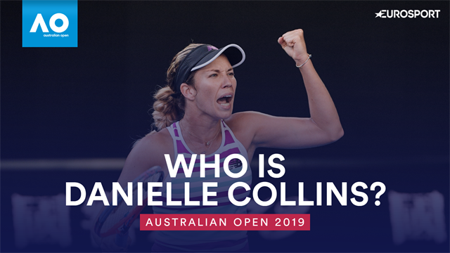 Who is Danielle Collins? The college superstar taking Melbourne by storm