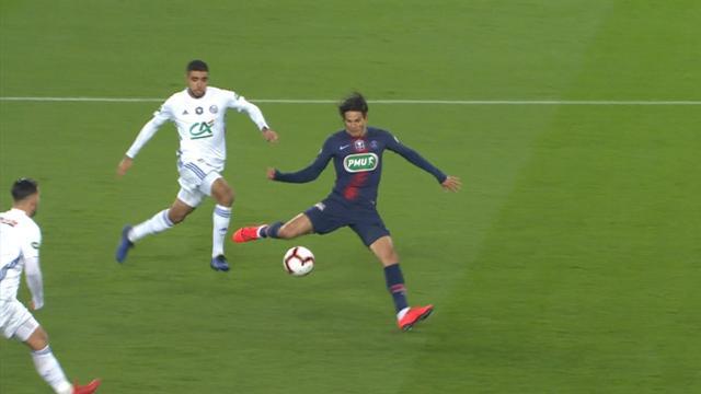 Choupo-Moting - Cavani, duo qui marche : l'ouverture du score du PSG