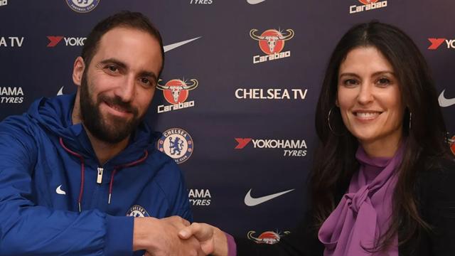 Ufficiale, Higuain è un giocatore del Chelsea: arriva in prestito dalla Juventus