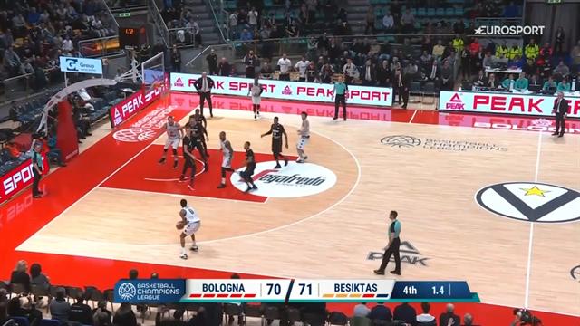 Niente lieto fine per Bologna! Da -10 a -1 ma Punter sbaglia il tiro della vittoria
