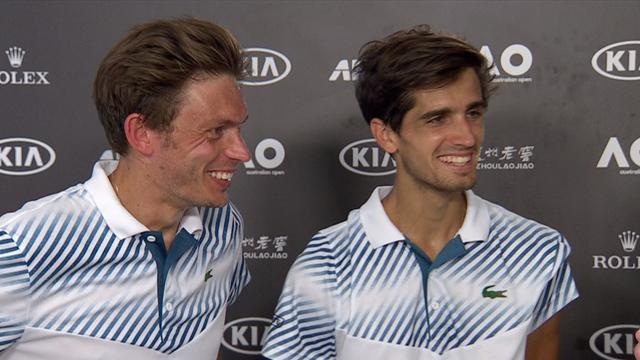 Le Strasbourgeois Pierre-Hugues Herbert en finale de l'Open d'Australie — Tennis