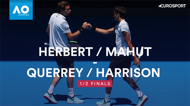 Mahut / Herbert down Harrison / Querrey to make Australian Open final